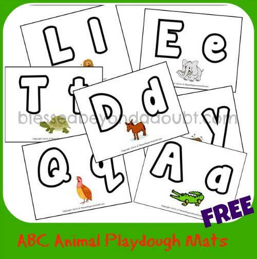 1000+ images about Play Dough Mats on Pinterest