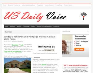 Mortgage Loan Rates Mortgage Loan Rates Wells Fargo
