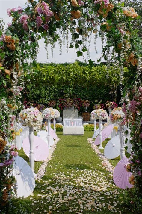 Towers Garden Wedding Decoration by Sheraton Bandung Hotel