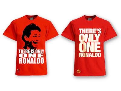 """Imagem com brincadeira """"There's only one Ronaldo"""" foi divulgada pelo """"Bola nas Costas"""" (Foto: Reprodução)"""
