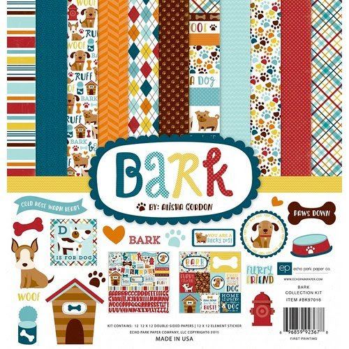 Echo Park - Bark Collection - 12 x 12 Collection Kit