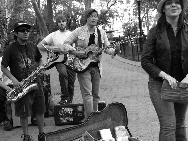 Music in Madison Square Park, NYC