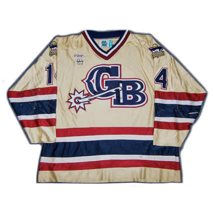 Green Bay Gamblers 01-02 jersey