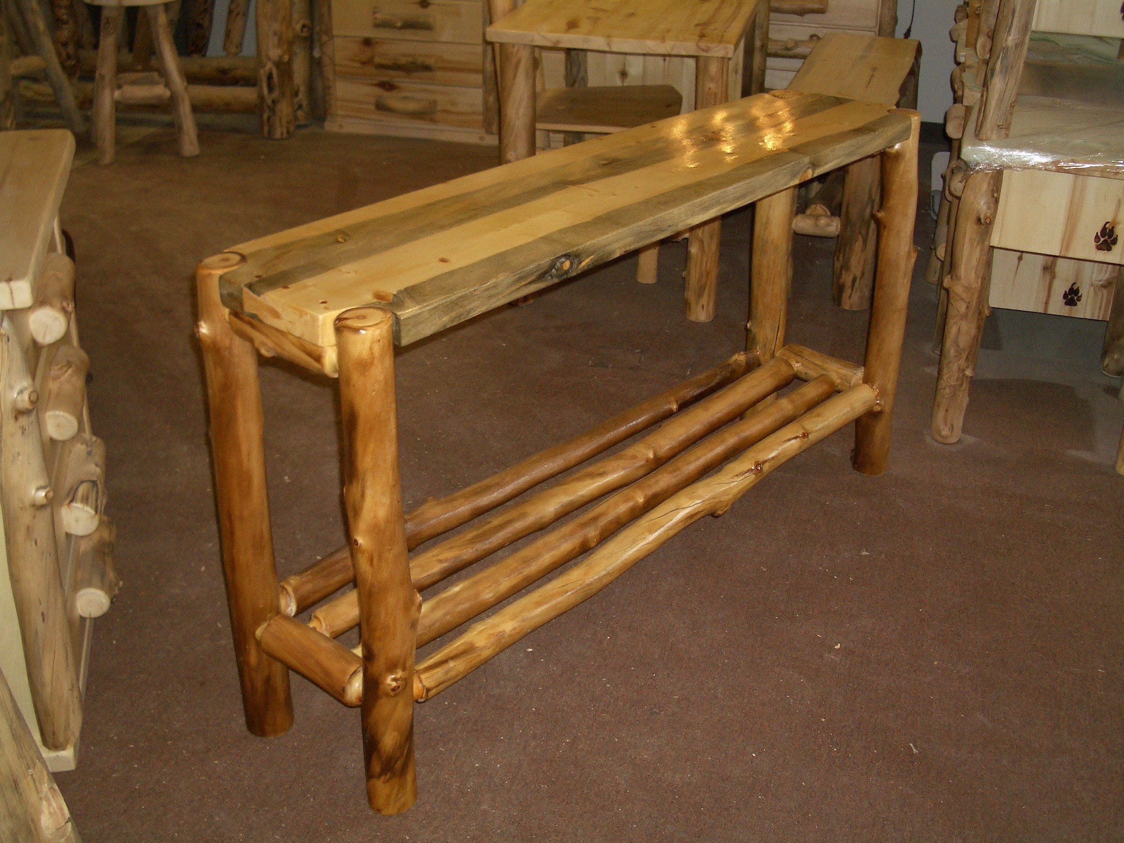 Log Pine Furniture Home And Garden