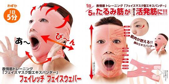 Maska Ćwiczenie Facewaver