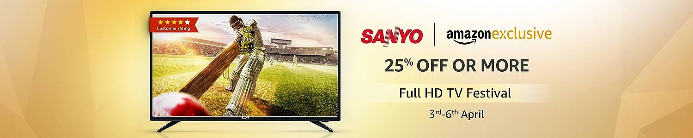 Sanyo full hd TV festival