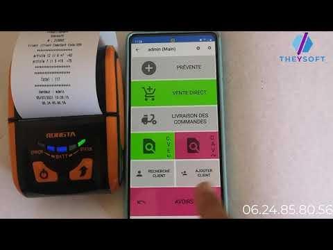 Système de gestion de la force de vente (PDA)