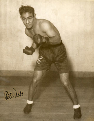 The institutionalization of Peter Nebo, pictured in 1932, inspired a friend to become a boxing abolitionist.