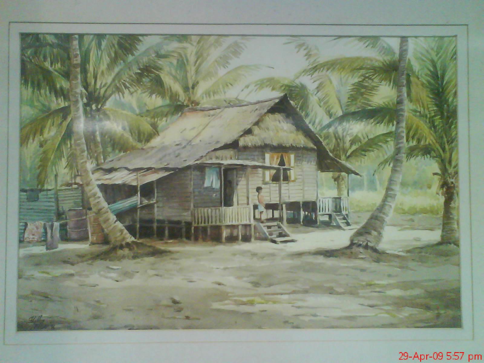 Blog rumah tradisional Melayu Melaka  Idea menulis