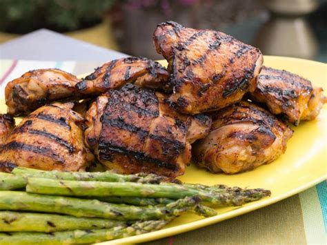 honey garlic chicken thighs recipe food network