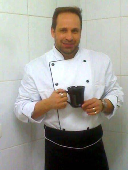 Ricardo Costa é hoje chef de cozinha