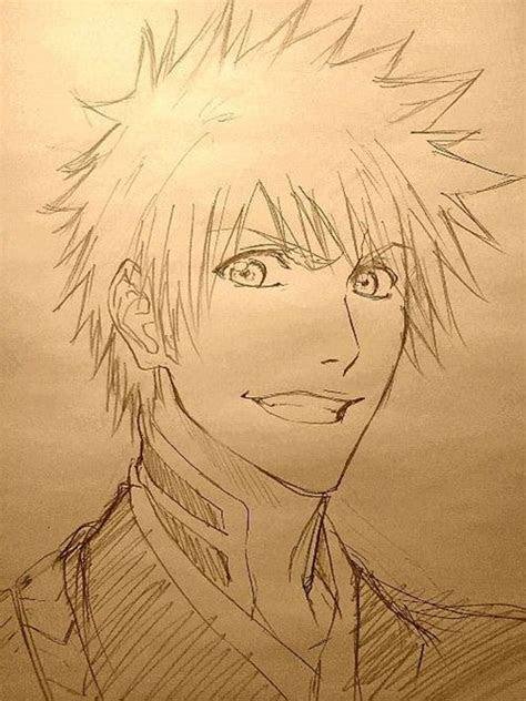 animemanga bleach character ichigo drawing  ichigo