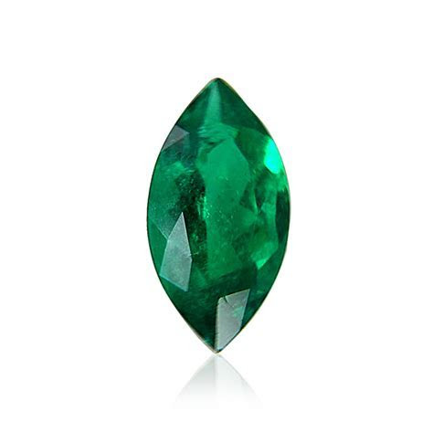 4.74 carat, Green, COLOMBIAN Emerald, Marquise Shape, SKU