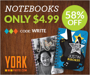 Custom Photo Notebook – Just $4.99 – Save $7 On Each!