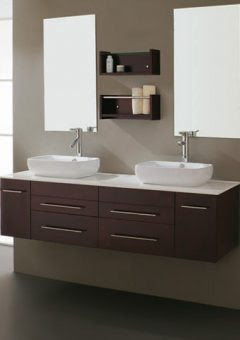 The Floating Vanity: A Wall Mounted Modern Must Have | All Things ...