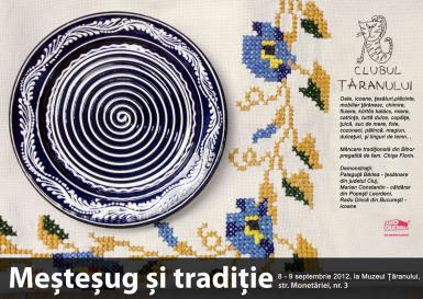 poze mestesug si traditie la muzeul taranului roman