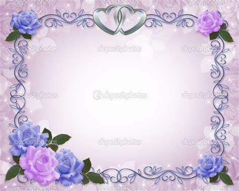 Purple Wedding Corner Borders   , birthday, wedding