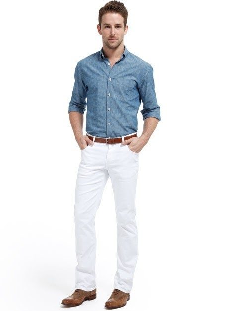 What Shoes Go With Light Blue Pants Mens