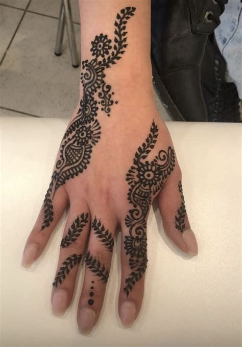 beautiful indian hand tattoo images tattoo design