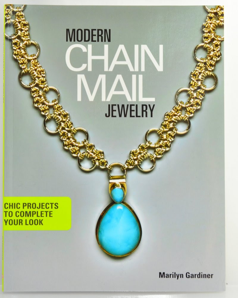 s45834 Book -  Modern Chain Mail Jewelry - By Marilyn Gardiner
