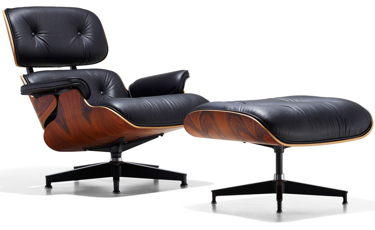 eames lounge chair ottoman charles and ray eames herman miller 1