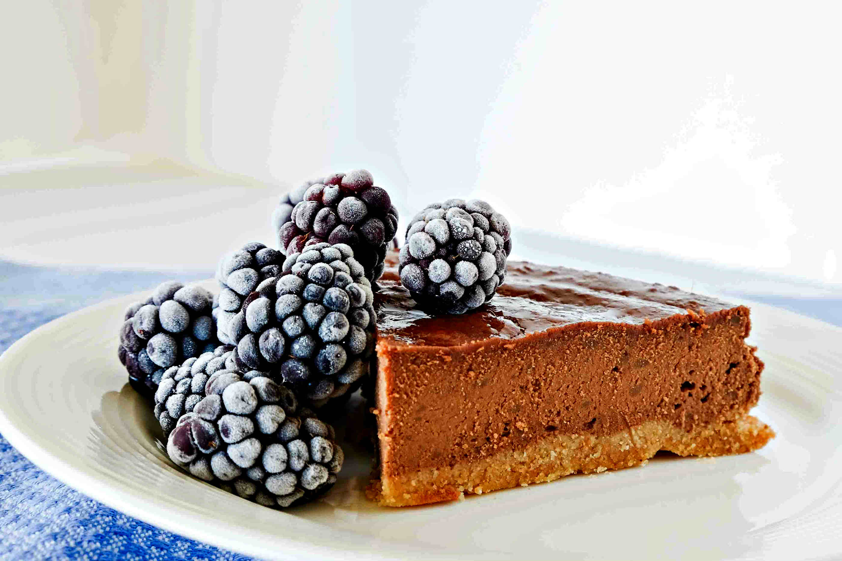 Grain Free Chestnut Chocolate Cake - Only Gluten Free Recipes