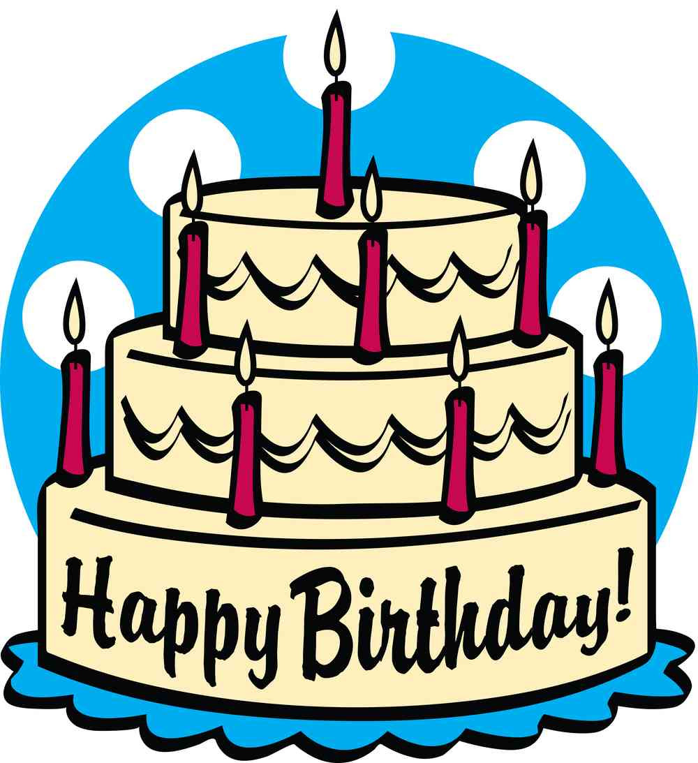 Birthday Cake Cute Clipart