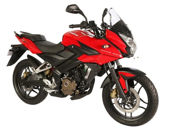 Bajaj Pulsar AS200 front three-quarter