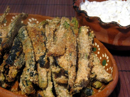 Baked Poblano Fries with French Onion Dip 2