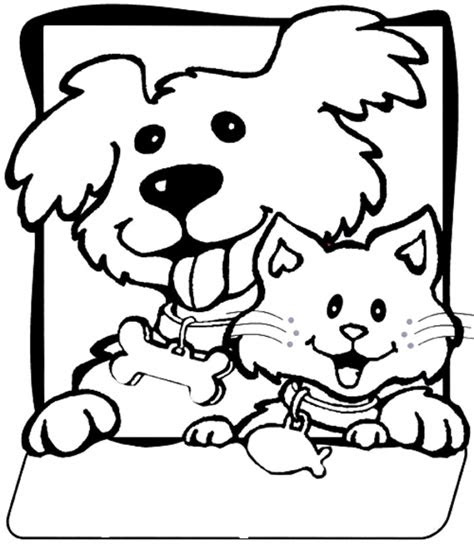 cats  dogs drawing  getdrawings