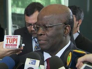 GNews - Joaquim Barbosa (Foto: globonews)