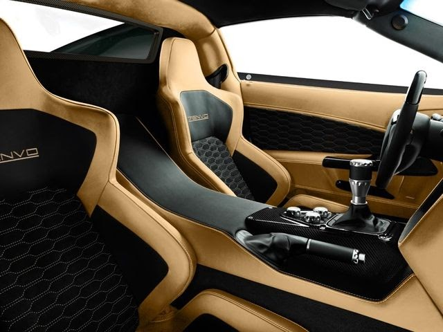 Interior Zenvo Car