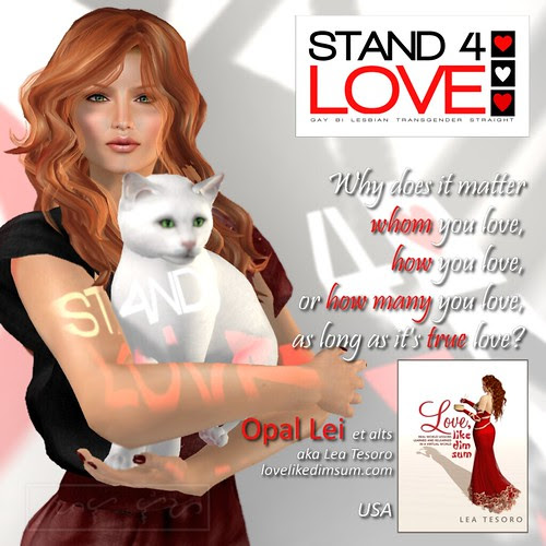 Stand4Love Opal Lei et alts