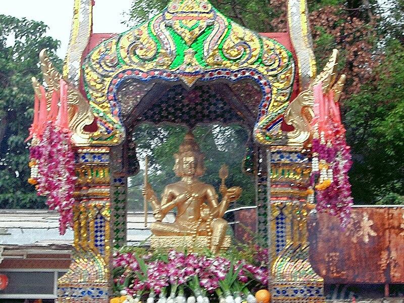 File:Phra Phrom Statues of Chuk Lam Sim Monastery Fu Yung Shan Tsuen Wan Hong Kong.JPG
