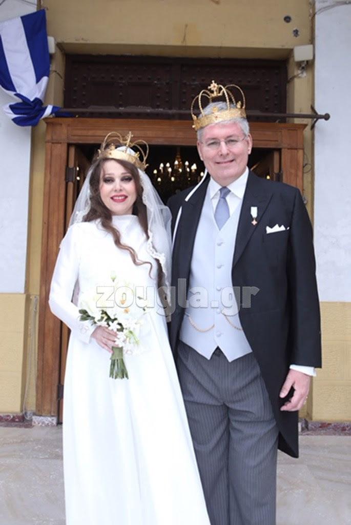 Από τον πρόσφατο γάμο του με τη Χαρούλα Δόντσιου