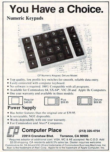 Computer Place - Numeric Keypad Commodore (3)