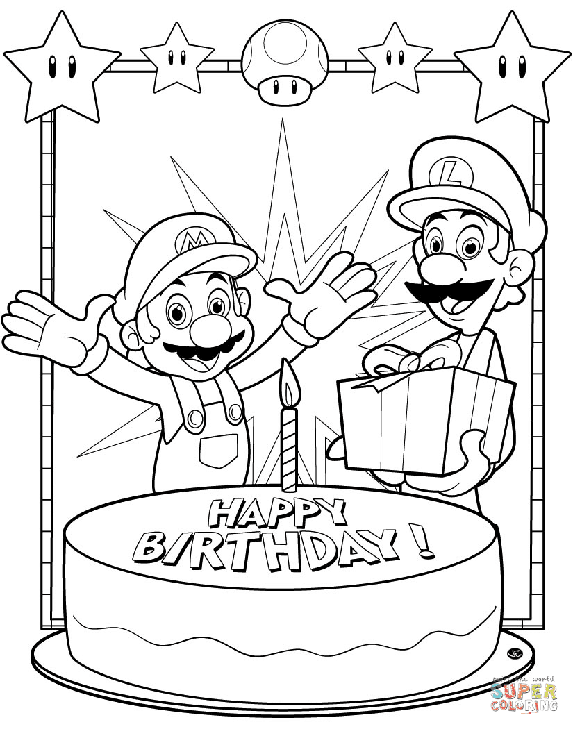 Happy Birthday Mario