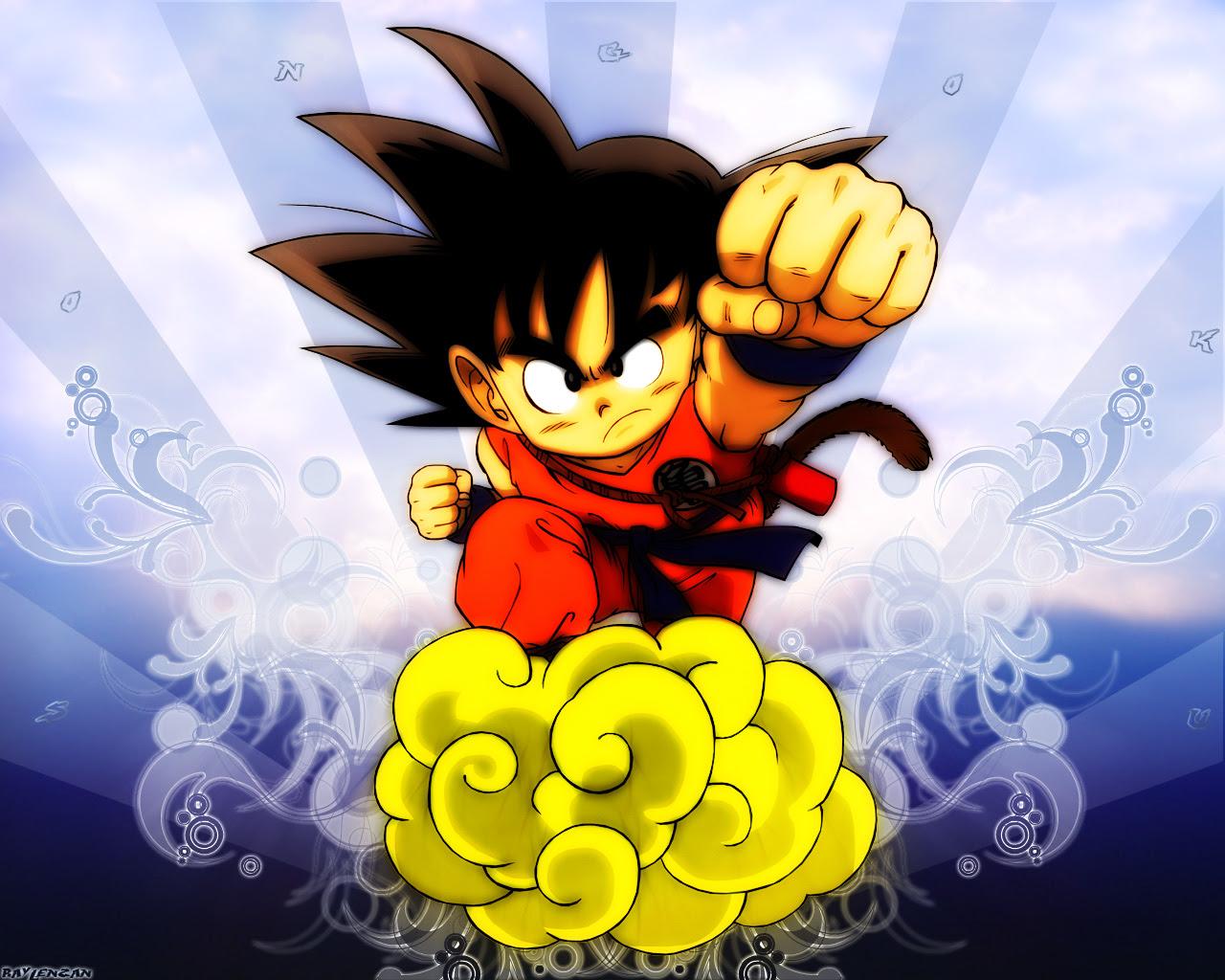 Dragon Ball Wallpaper Son Goku Blue Version Minitokyo