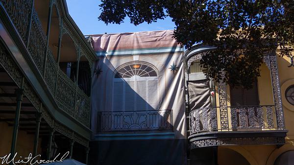 Disneyland Resort, Disneyland, New Orleans Square, Rooftop, Club 33, Refurbishment, Refurb