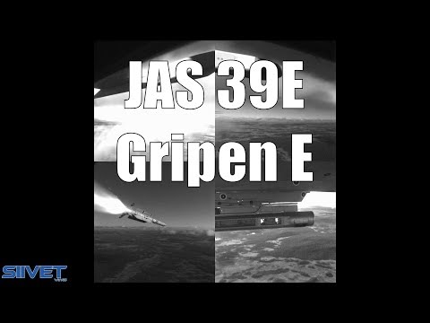 Gripen E First Missile Launch & Drop Tank Test - Saab JAS 39E Test Flights