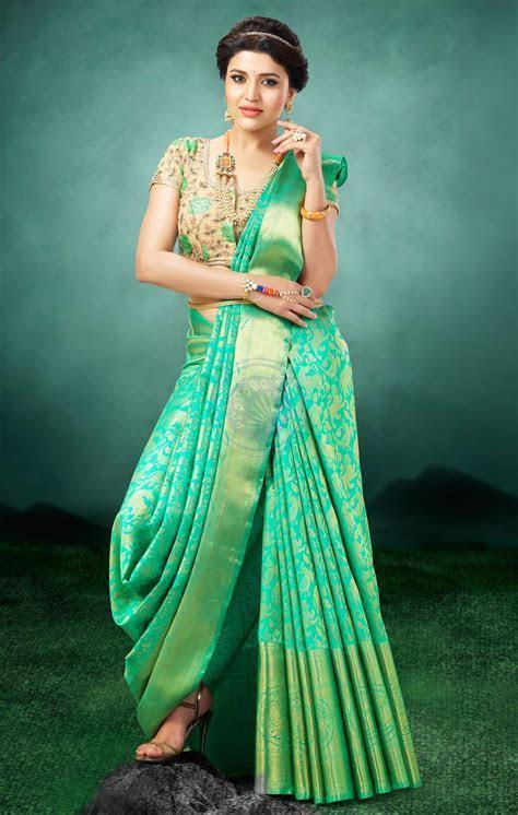 Vivaha Goddess Bridal Silk Saree   VBBS1015   Pattu