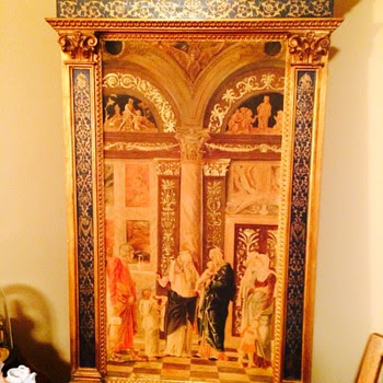 Beautiful large Italian painting