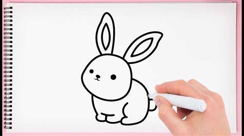 Simple Rabbit Drawing For Kids   ephesustour.cc