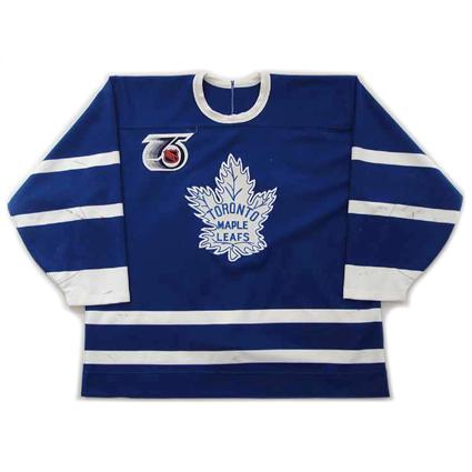 Toronto Maple Leafs 91-92 TBTC jersey, Toronto Maple Leafs 91-92 TBTC jersey