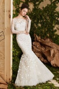 Carolina Herrera Bridal 2017 Spring Wedding Dresses
