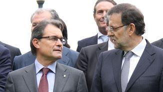 Mas i Rajoy, un any abans de la consulta del 9N (ACN)