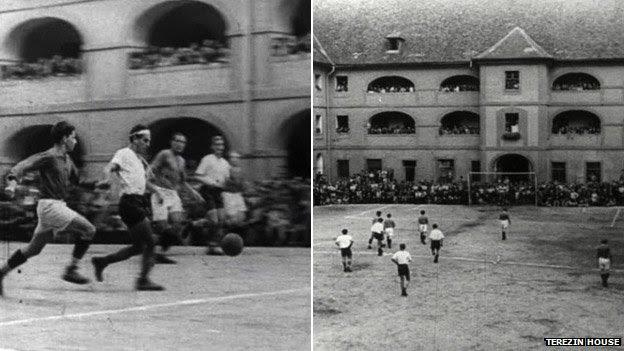 Jogos de futebol em Theresienstadt