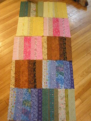WIP - The Summer of Color Quilt