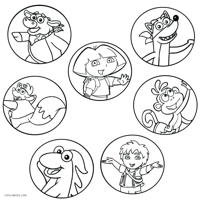 Dora Easter Coloring Pages at GetColorings.com | Free ...