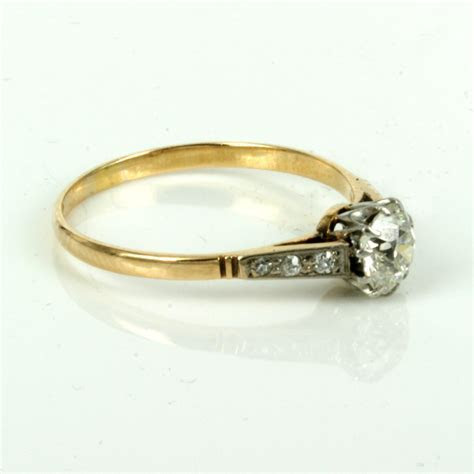 Buy Antique claw set diamond engagement ring. Sold Items